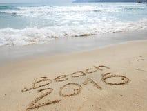 Spiaggia 2016 Fotografia Stock