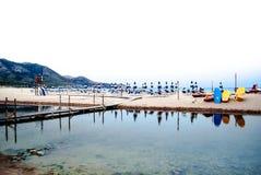 Spiaggia Royalty-vrije Stock Fotografie