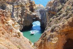 Spiaggia 9 del Portogallo fotografia stock