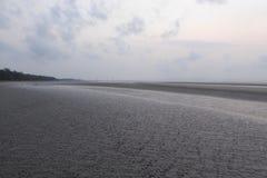 Spiaggia abbandonata Fotografie Stock Libere da Diritti