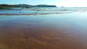 Spiaggia abbandonata Fotografia Stock