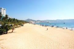Spiaggia a Acapulco, Messico Fotografia Stock Libera da Diritti