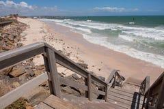 Spiaggia ad ovest, Adelaide Fotografia Stock Libera da Diritti