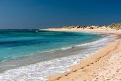 Spiaggia ad ovest di paradiso di Ningaloo Australia fotografia stock