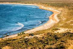Spiaggia ad ovest di paradiso di Ningaloo Australia immagini stock libere da diritti