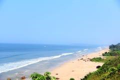 Spiaggia adorabile Fotografia Stock