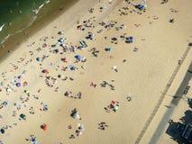 Spiaggia aerea Immagini Stock