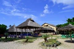 Spiaggia africana di stile a Dar es Salaam Fotografia Stock
