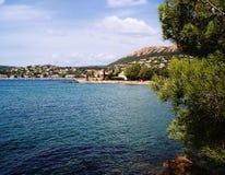 Spiaggia Agay Fotografia Stock