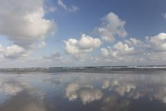 Spiaggia al brasiliano Paradise immagini stock libere da diritti
