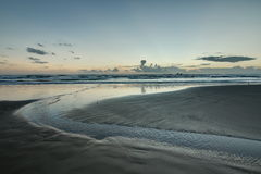 Spiaggia al cappellano del sud Fotografia Stock Libera da Diritti