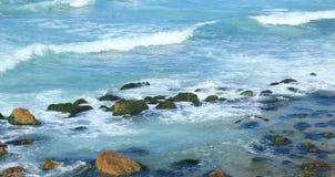 Spiaggia in Alessandria d'Egitto Fotografia Stock