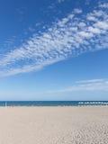 Spiaggia Alicante, Costa Blanca Fotografie Stock