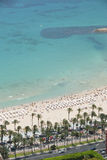 Spiaggia, Alicante, Spagna Fotografia Stock