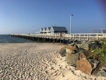Spiaggia all'Australia occidentale di Bussleton Immagine Stock
