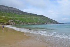 Spiaggia alla baia di Keem Immagine Stock Libera da Diritti