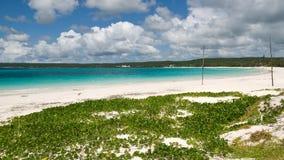 Spiaggia alla Nuova Caledonia Fotografia Stock