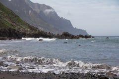Spiaggia a Almaciga Tenerife Fotografie Stock