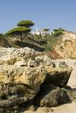 Spiaggia & scogliere di Oura Fotografia Stock Libera da Diritti