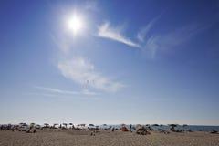 Spiaggia assolata Stock Photos