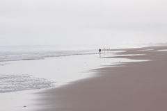 Spiaggia atlantica Fotografie Stock