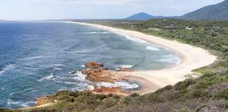 Spiaggia Australia di Dunbogan Immagine Stock Libera da Diritti