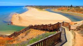 Spiaggia in Australia Meridionale immagini stock