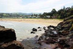 Spiaggia australiana fotografie stock