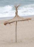 Spiaggia in autunno Fotografia Stock Libera da Diritti