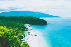 Spiaggia azzurrata Bali, Indonesia Fotografia Stock