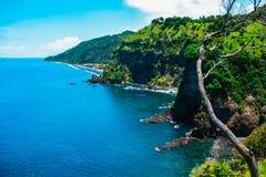 Spiaggia azzurrata Bali, Indonesia Immagine Stock