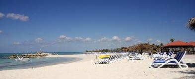 Spiaggia Bahamas Fotografia Stock