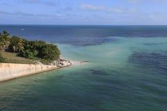 Spiaggia in Bahia Honda State Park Fotografie Stock