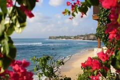 Spiaggia in Bali fotografia stock