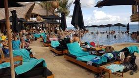 Spiaggia Bali dei finlandesi Immagini Stock Libere da Diritti