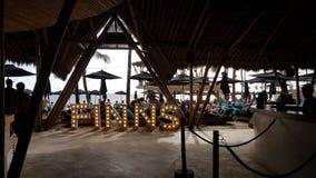 Spiaggia Bali dei finlandesi Fotografia Stock Libera da Diritti