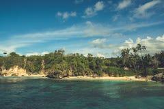 Spiaggia in Bali, Indonesia Immagini Stock Libere da Diritti