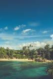 Spiaggia in Bali, Indonesia Fotografia Stock