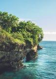 Spiaggia in Bali, Indonesia Immagini Stock