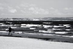 Spiaggia baltica Binz fotografia stock libera da diritti