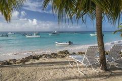 Spiaggia Barbados le Antille di Worthing Fotografia Stock