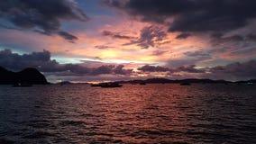 Spiaggia, barca, isola, sole, natura, fotografia stock libera da diritti