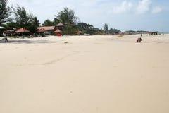 Spiaggia bianca Immagini Stock