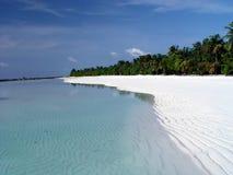Spiaggia bianca della sabbia Immagine Stock Libera da Diritti
