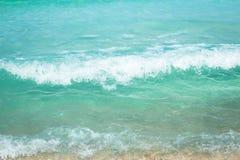 Spiaggia bianca di Chaweng della spiaggia di sabbia di BlueSea, Koh Samui, Tailandia fotografia stock