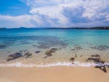Spiaggia Bianca, Golfo Aranci, Σαρδηνία Στοκ φωτογραφίες με δικαίωμα ελεύθερης χρήσης