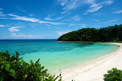 Spiaggia a Boracay Fotografia Stock