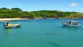 Spiaggia brasiliana a Fernando Noronha, Brasile Immagini Stock