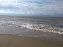 Spiaggia Bruges Belgio di Monroe del Mare del Nord fotografia stock libera da diritti