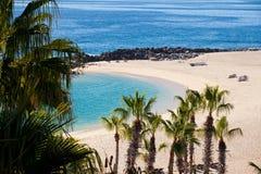 Spiaggia in Cabo San Lucas Immagini Stock Libere da Diritti